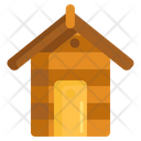 Garden Shed Wood House Faem House Icon