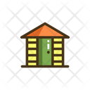 Garden Shed Storeroom Tool Shed Icon