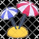 Garden Umbrellas Icon