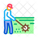 Garden Worker Tool Icon