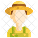Gardener Farmer Agriculturist Icon