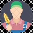 Gardener Farmer Caretaker Icon