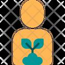 Gardener Plant Tree Icon