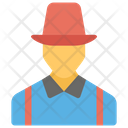 Male Avatar Constructor Gardener Icon