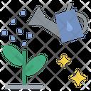 Flower Garden Growth Icon