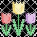 Gardening Tulip Farming Icon