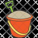 Plantation Gardening Bucket Icon