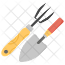 Rake And Trowel Agriculture Tool Farming Tool Icon
