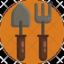 Fork Spade Farming Tools Icon