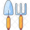 Gardening Tools Digging Tools Hand Tool Icon