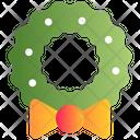 Garland Wreath Decoration Icon