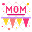 Garland Mother Day Mom Icon