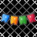 Party Decoration Garland Festoon Icon