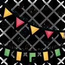 Garland Christmas Lights Xmas Icon