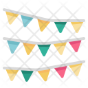 Garland Flags Icon