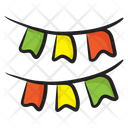 Party Garlands Garlands Decoration Icon