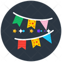 Garlands Decorative Garlands Buntings Icon