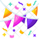 Garlands Party Birthday Icon