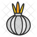 Garlic Bulb Vegetable Icon