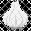 Garlic Allium Sativum Spice Icon