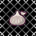 Garlic Vegetable Ingredient Icon