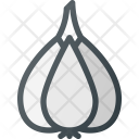 Garlic Health Food Icon
