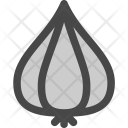 Garlic Bulb Clove Icon