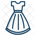 Garment Dress Design Frock Icon