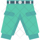Garments Jeans Pants Icon