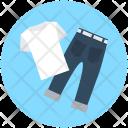 Garments Pant Shirt Icon