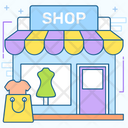 Garments Shop Icon