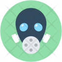Gas Mask Safety Icon