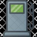 Gas Station Transportation Icon