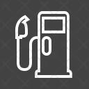 Gas Station Petrol Icon