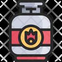 Gas Fuel Bottl Gas Bottle Icon