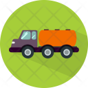Gas Truck Transport Icon