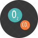 Dioxide Oxygen Carbon Icon
