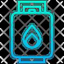 Cylinder Gas Kitchen Icon