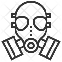 Gas Mask Security Icon