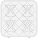 Gas Stove Cook Icon