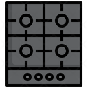 Gas Cooker Icon