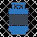 Gas Cylinder Burner Icon