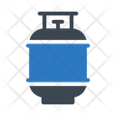 Cylinder Gas Cooking Icon