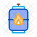 Explosive Gas Tank Icon