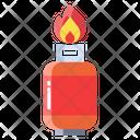 Ggas Gas Gas Bottle Icon