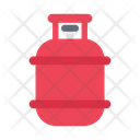 Cylinder Gas Construction Icon