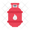 Gas Cylinder Cooking Icon