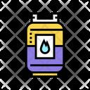 Gas Barrel Color Icon