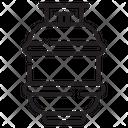 Cylinder Gas Oxygen Tank Icon