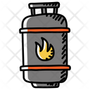 Gas Container Gas Cylinder Gas Tank Icon